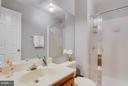 2nd Bath (Master) - 6620 SKY BLUE CT, ALEXANDRIA