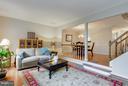 Living Room - 6620 SKY BLUE CT, ALEXANDRIA