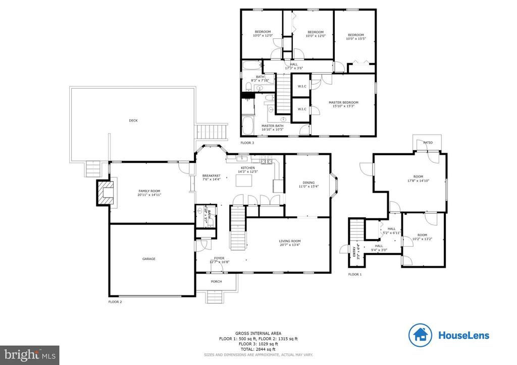 Floor plan - 7111 COUNTER PL, BURKE