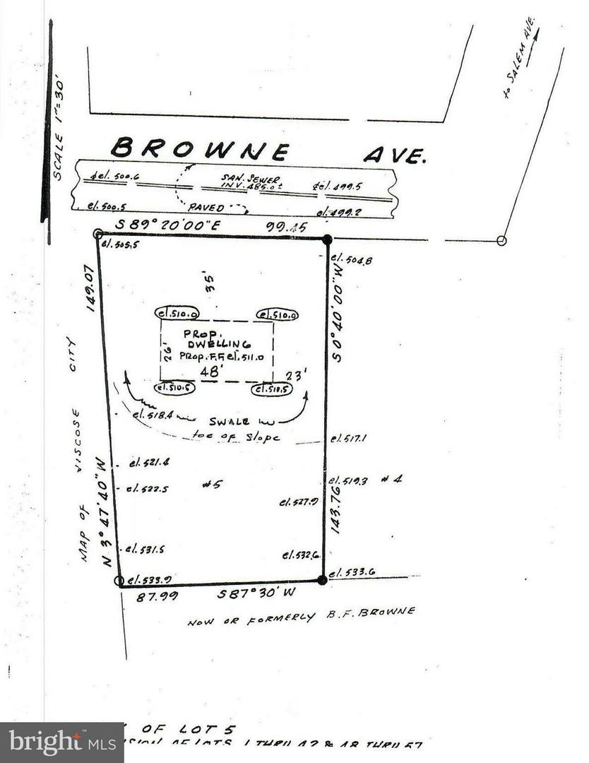 Land for Sale at 5-Lot Brown Ave Front Royal, Virginia 22630 United States