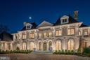 Chateau de Lune at Night - 300 RIVER BEND RD, GREAT FALLS