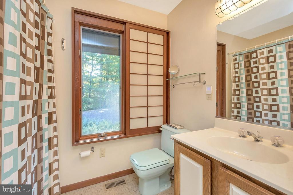 Hall bath provides plenty of natural light. - 111 BOXWOOD TRL, LOCUST GROVE