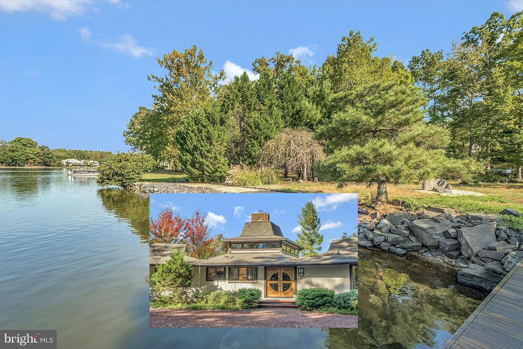 Stunning, tranquil 245 ft of water frontage! - 111 BOXWOOD TRL, LOCUST GROVE