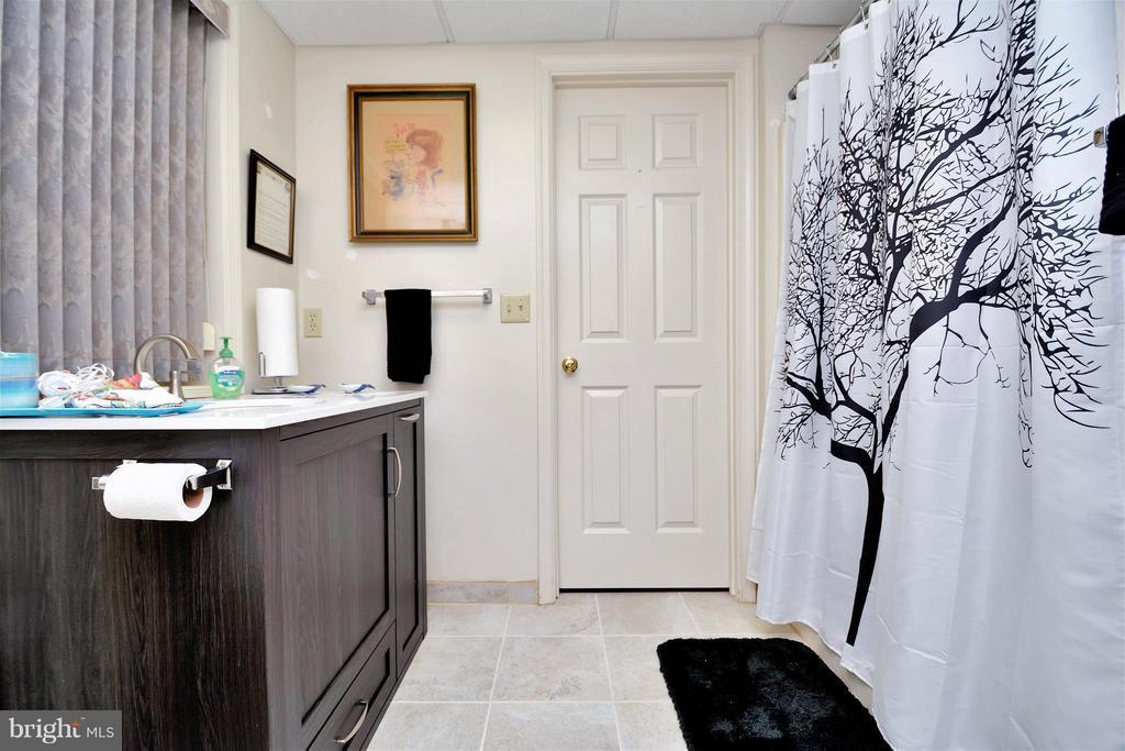 Lower level full bath - 542 HARRISON CIR, LOCUST GROVE