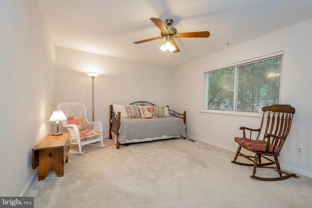 Spacious bedroom on the main level - 215 SKYLINE RD, LOCUST GROVE