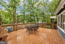 Expansive deck with water views - 215 SKYLINE RD, LOCUST GROVE