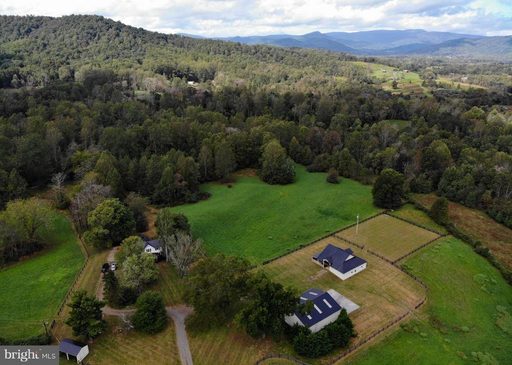 Aerial view - 765 RUDASILL MILL RD, WOODVILLE