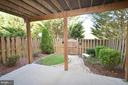 Patio Under the Deck - 833 TALL OAKS SQ SE, LEESBURG