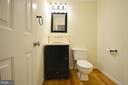 Half Bathroom on Main Level - 833 TALL OAKS SQ SE, LEESBURG