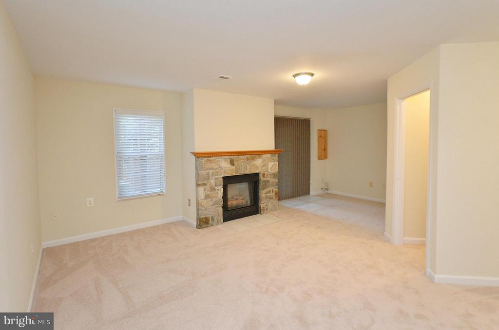 Gas Firplace in the Basement - 833 TALL OAKS SQ SE, LEESBURG