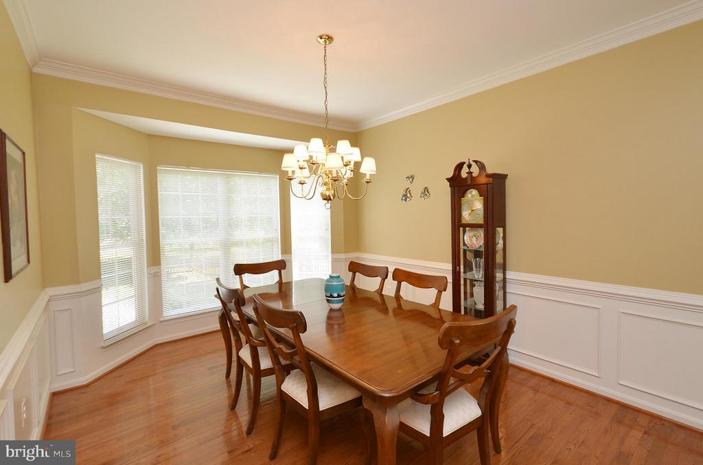Lovely Dining Room with Bay Window - 20532 DEERWATCH PL, ASHBURN