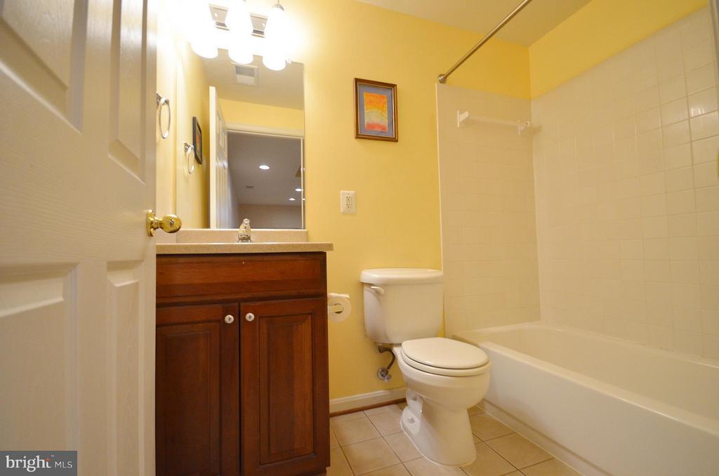 Full Bathroom in the Basement - 20532 DEERWATCH PL, ASHBURN