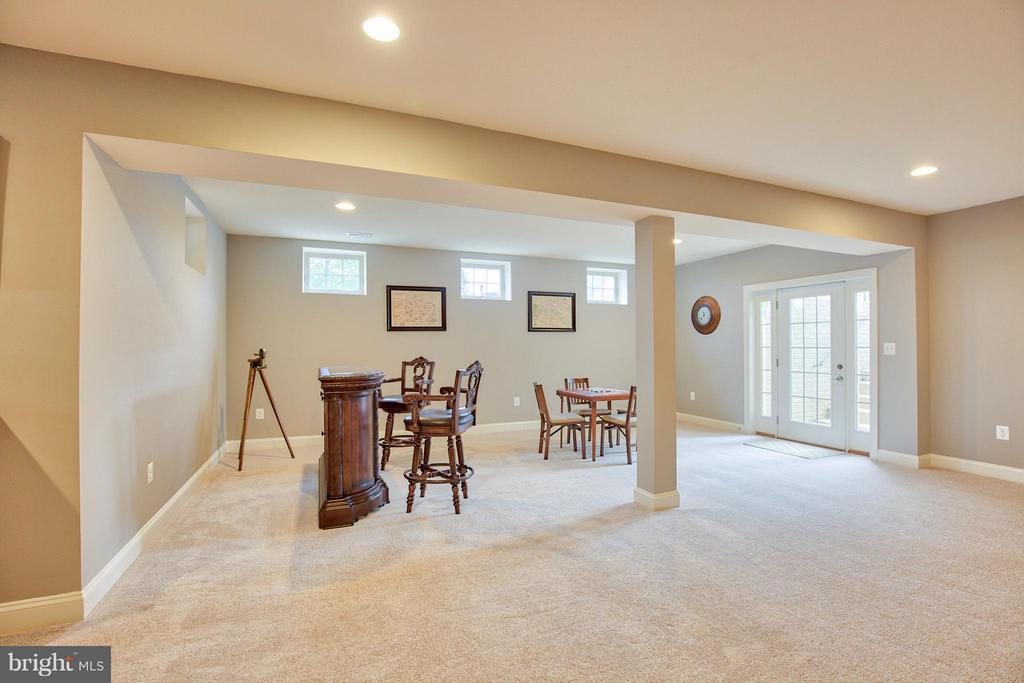 Lower Level - 17331 WESTHAM ESTATES CT, HAMILTON