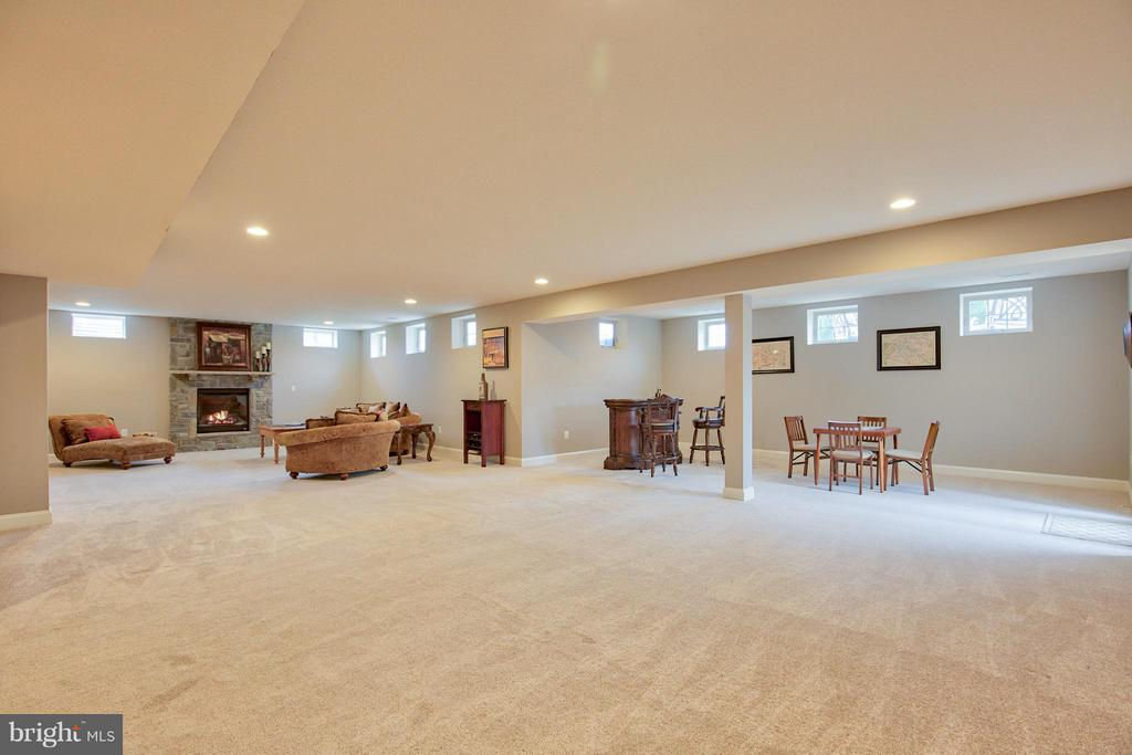 Lower Level Rec area - 17331 WESTHAM ESTATES CT, HAMILTON