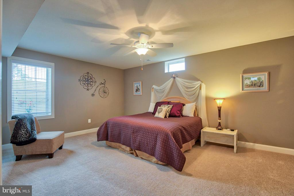 Lower level bedroom - 17331 WESTHAM ESTATES CT, HAMILTON