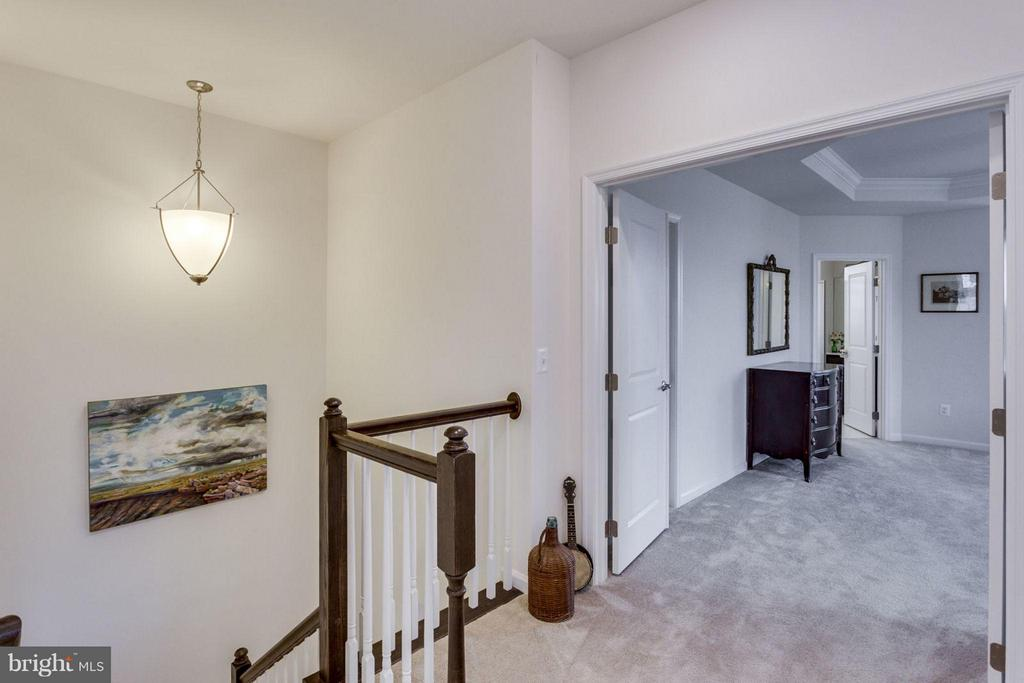 Upstairs hallway to master - 265 HIGH RAIL TER SE, LEESBURG