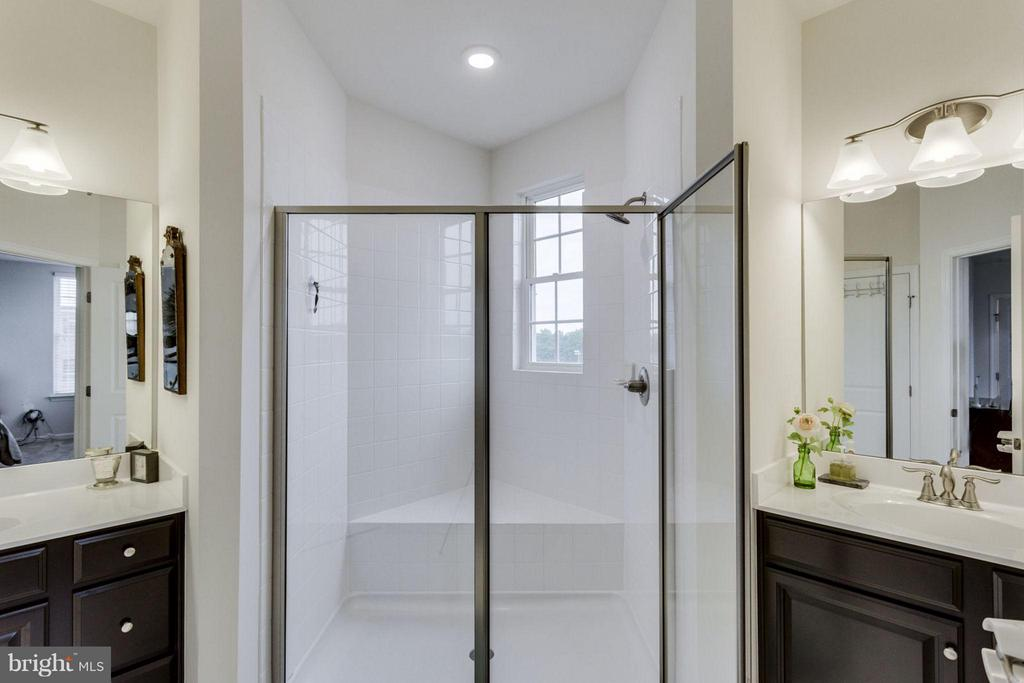 Giant shower - 265 HIGH RAIL TER SE, LEESBURG