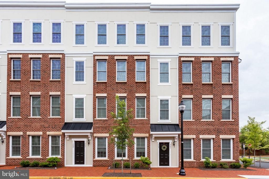 Beautiful all brick Exterior - 265 HIGH RAIL TER SE, LEESBURG