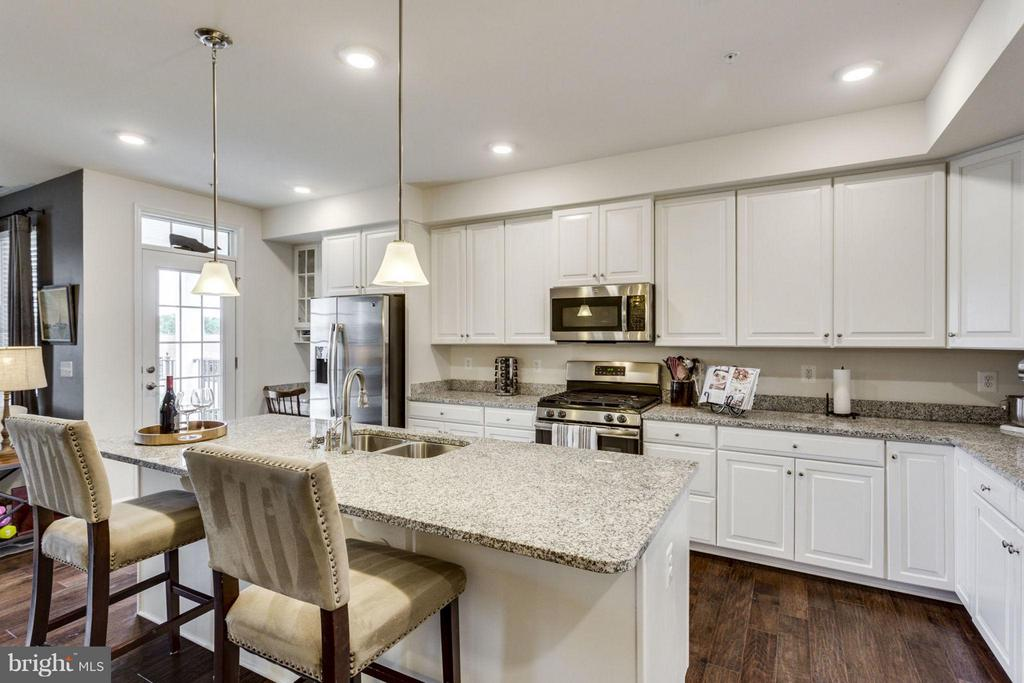 Breathtaking kitchen, upgraded everything - 265 HIGH RAIL TER SE, LEESBURG