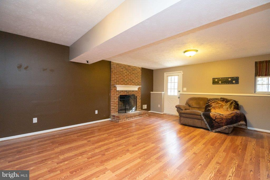 Basement with fireplace for the cold days ahead - 44011 NW CHOPTANK TER, ASHBURN