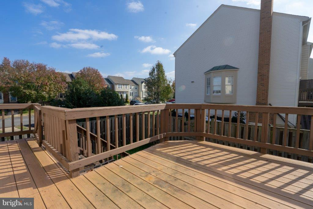 Party time Deck - 44011 NW CHOPTANK TER, ASHBURN