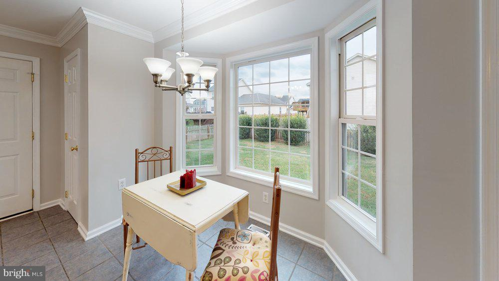 Cozy window-filled breakfast room - 70 OWL AVE, MARTINSBURG
