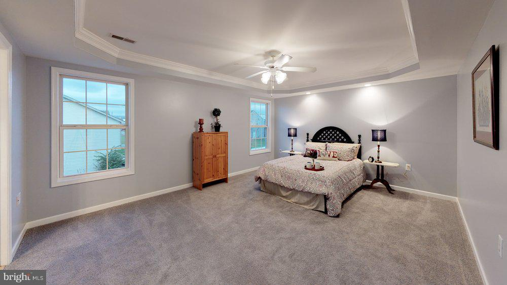 Dreamy master suite boasts dramatic tray ceiling - 70 OWL AVE, MARTINSBURG