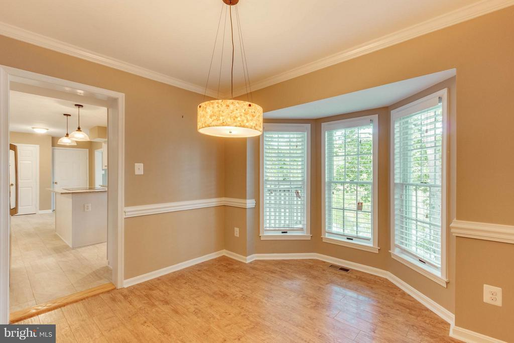 Dining Room w beautiful view! - 15902 DOLPHIN DR, DUMFRIES