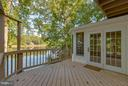 View of lake from deck! - 15902 DOLPHIN DR, DUMFRIES