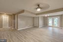 Walkout basement w french doors! - 15902 DOLPHIN DR, DUMFRIES