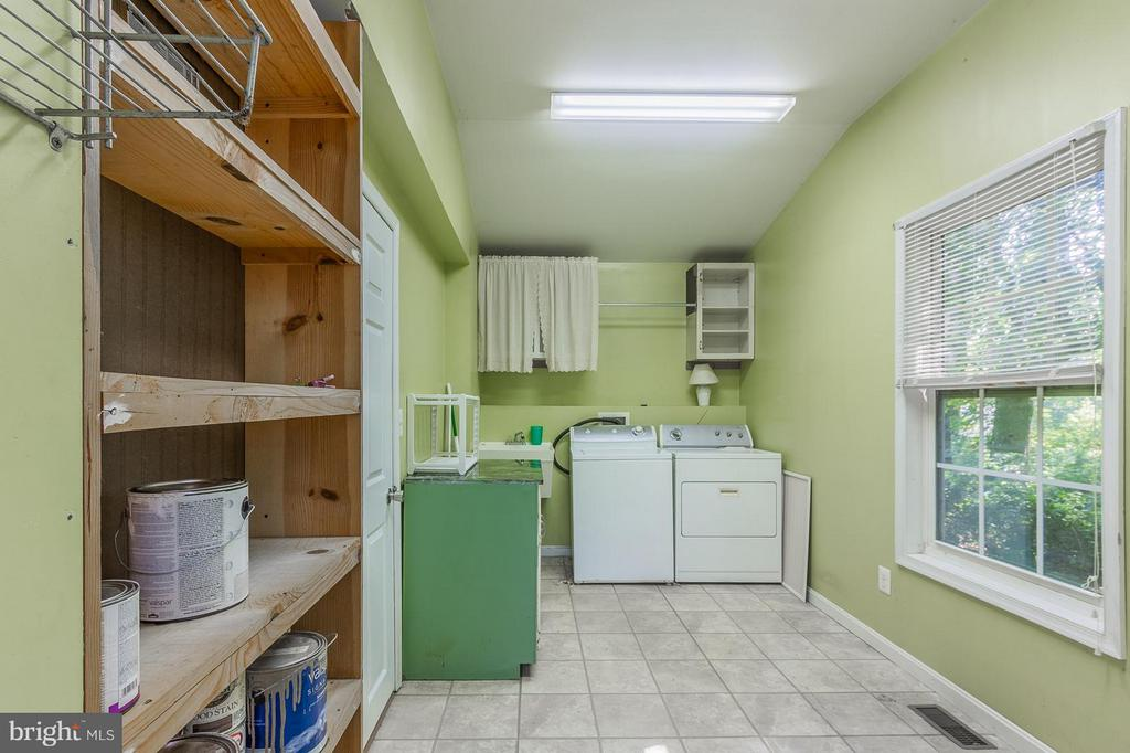 Laundry Room With Plenty of  Storage Space - 181 ELEY RD, FREDERICKSBURG