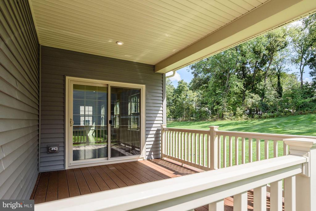 Optional covered porch - 1110 LIBERTY KNOLLS DR, STAFFORD