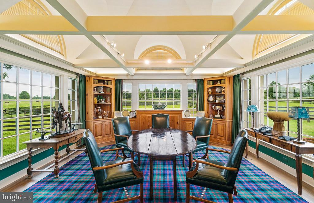 Conference Rm surrounded by paddocks outside. - 33542 NEWSTEAD LN, UPPERVILLE
