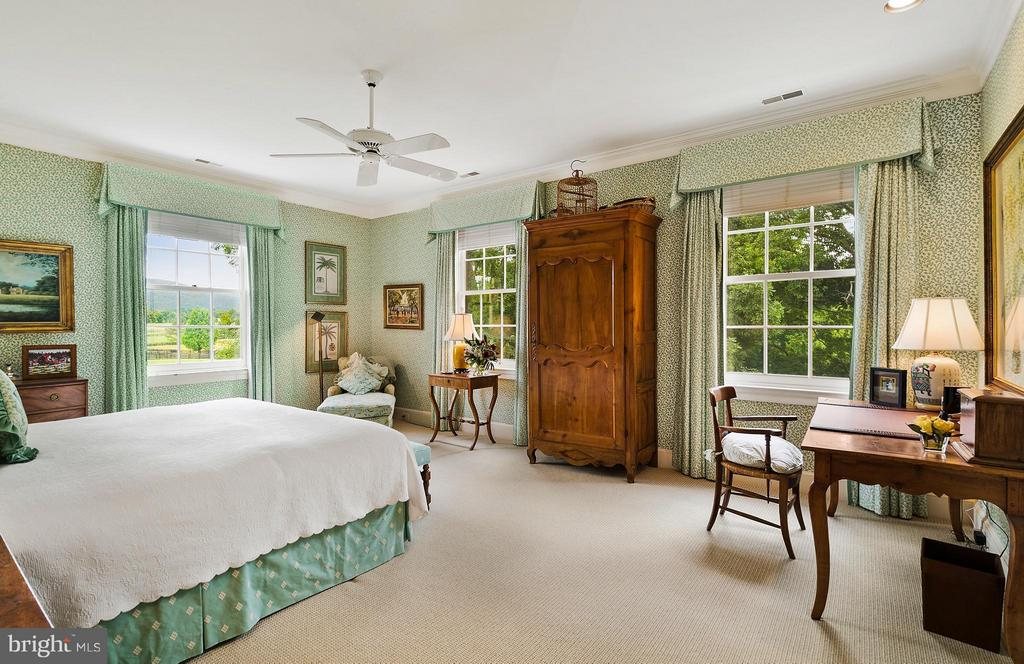 The Green Guest Bedroom with en suite bath - 33542 NEWSTEAD LN, UPPERVILLE