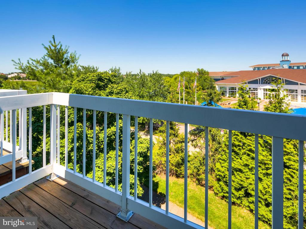 Balcony from Master Bedroom - 20576 SNOWSHOE SQ #302, ASHBURN