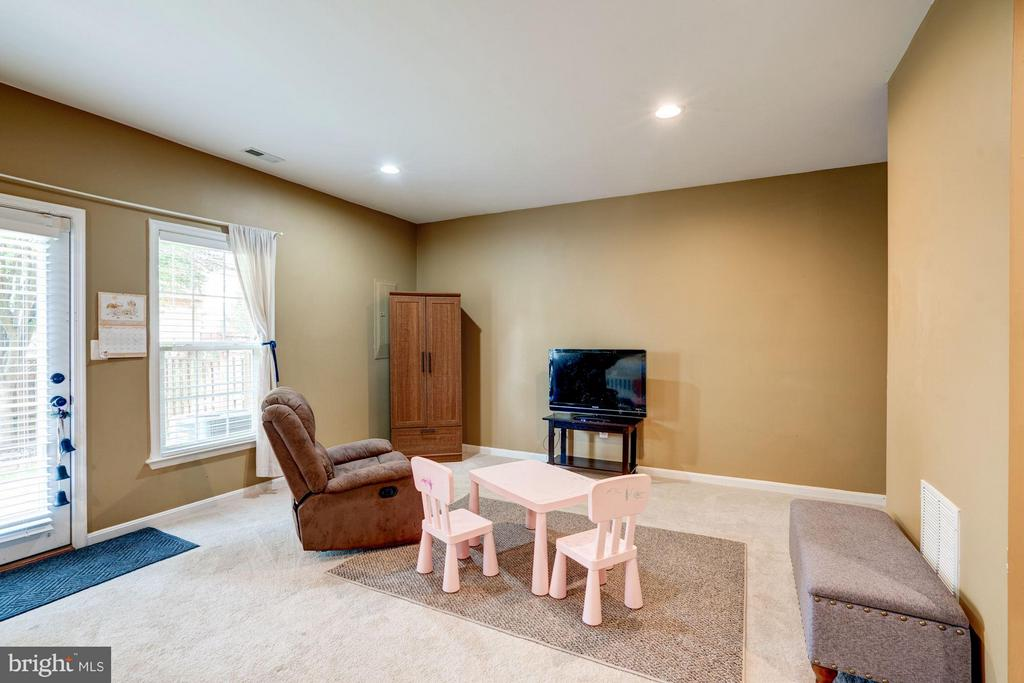LOWER LEVEL FAMILY ROOM W/FULL BATH - 41909 MORELAND MINE TER, ALDIE