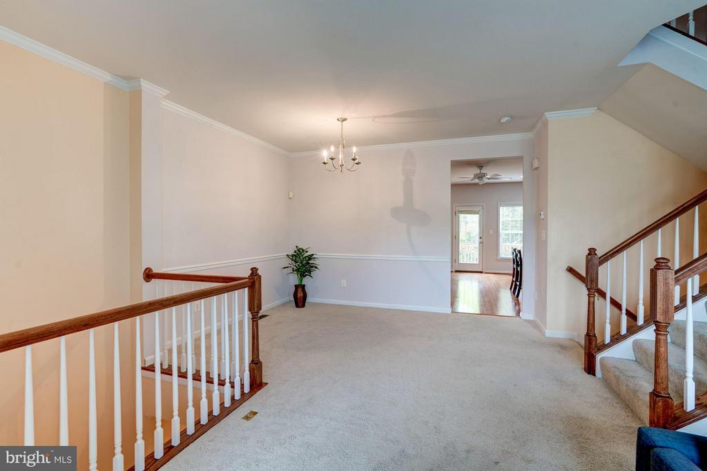 OPEN AREA TO DINING ROOM - 41909 MORELAND MINE TER, ALDIE