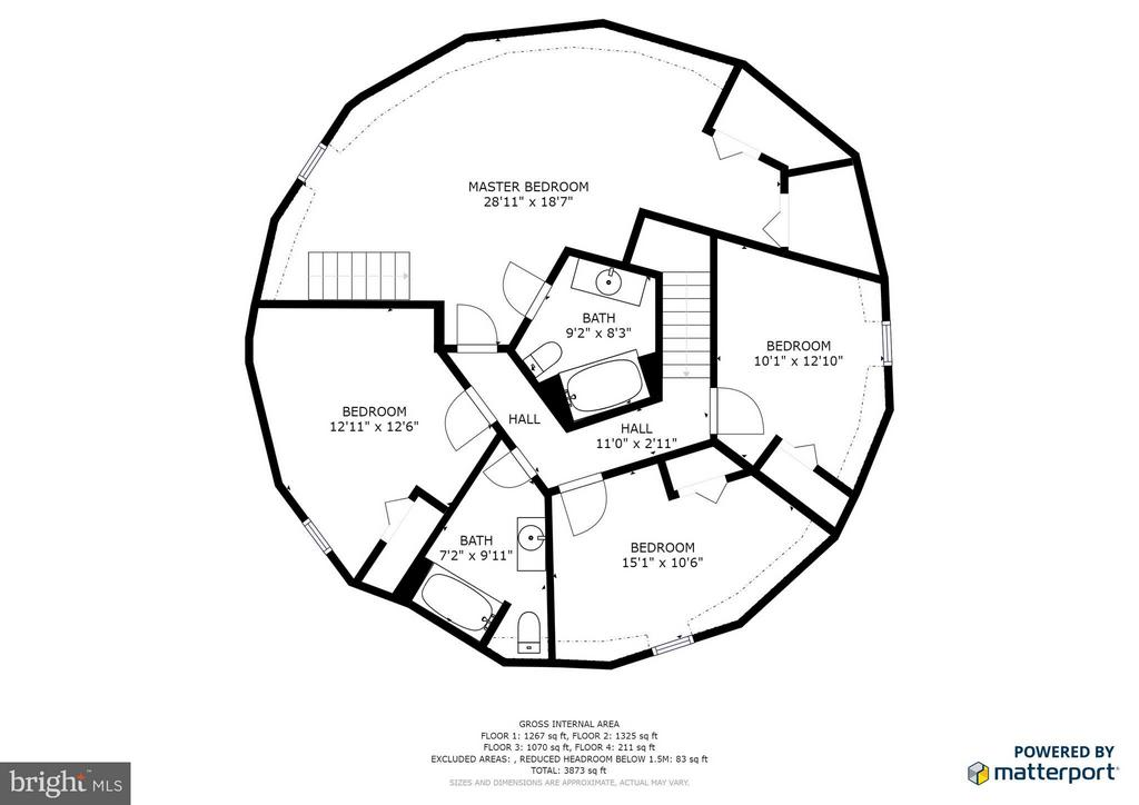 Approx Floor plan - 127 YORKTOWN BLVD, LOCUST GROVE
