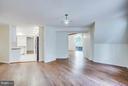 View to kitchen from oversized foyer - 127 YORKTOWN BLVD, LOCUST GROVE