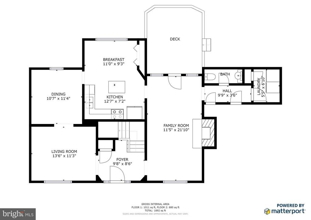 Main Floor Plans - 5 STABLE WAY, FREDERICKSBURG
