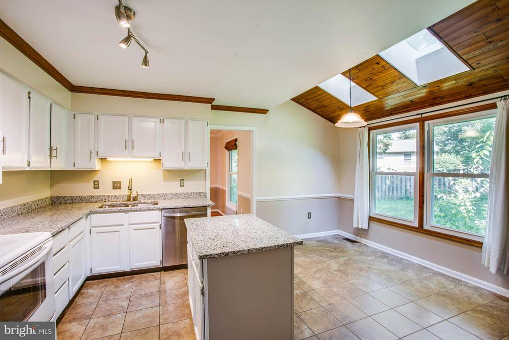 Skylights in Kitchen - 5 STABLE WAY, FREDERICKSBURG