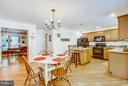 Spacious & Open Kitchen Area - 12647 BELLEFLOWER LN, FREDERICKSBURG
