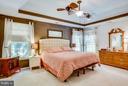 Bedroom (Master) - 12647 BELLEFLOWER LN, FREDERICKSBURG