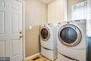 Laundry Room off Kitchen - 130 LAND OR DR, RUTHER GLEN