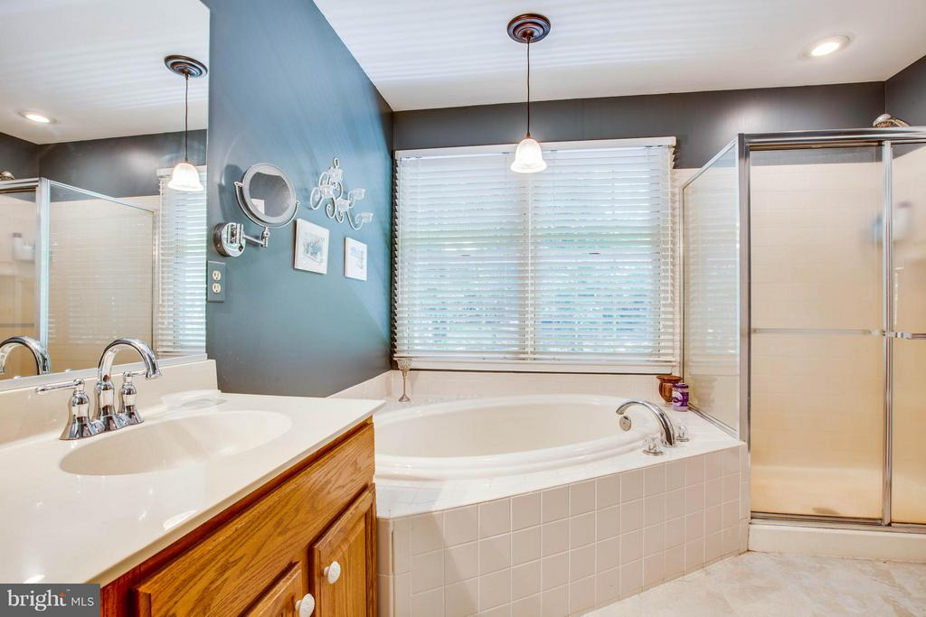 Separate Tub & Shower in Master Bath - 12647 BELLEFLOWER LN, FREDERICKSBURG