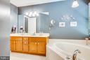 Bath (Master) - 12647 BELLEFLOWER LN, FREDERICKSBURG