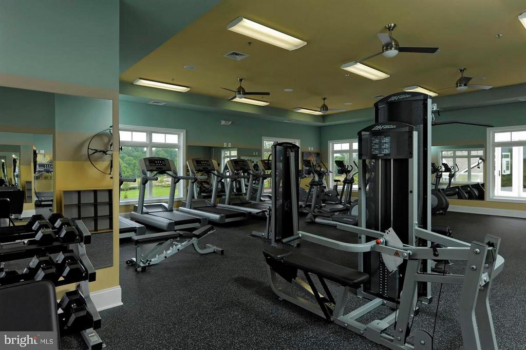 Community Fitness Gym - 23608 WATERFORD DOWNS TER, ASHBURN