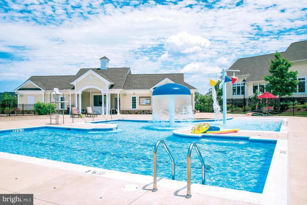 Community Pool & Kids Pool - 23625 WATERFORD DOWNS TER, ASHBURN