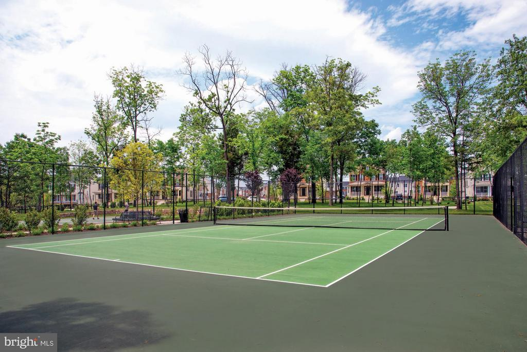 Community Tennis Courts - 23553 HOPEWELL MANOR TER, ASHBURN