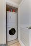 In unit laundry - 1830 JEFFERSON PL NW #1, WASHINGTON